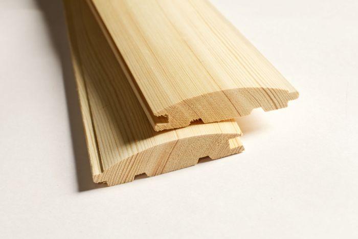Деревянный блок хаус - обшивка - преимущества