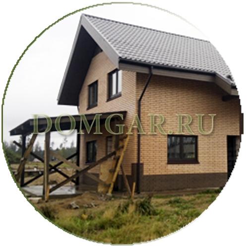 Построить каменный дом: загородный дом из газобетона, кирпича