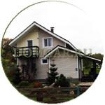 Внешняя отделка загородного дома, обшивка дачного дома