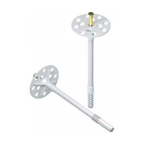 Дюбель-зонтик пластиковый для утепления дачного дома пенопластом (пенополистиролом)