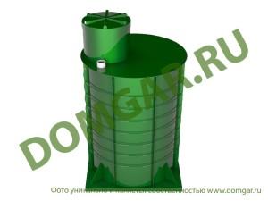 Пластиковый кессон для дачи