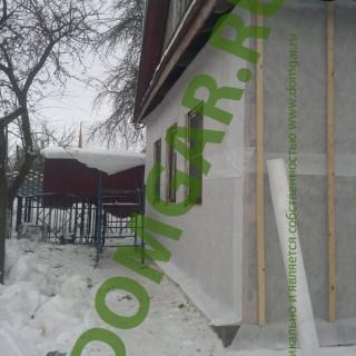 Обшивка загородного дома, утепление загородного дома
