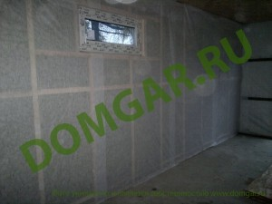 Ремонт гаража под ключ, утепление гаража