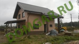 загородный дом из газоблоков - построить
