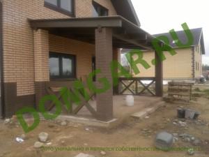 строительство загородного дома газобетон, газоблоки